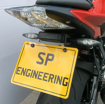 BMW S1000RR 2015 SP Engineering Stainless Tail Tidy / Fender Eliminator