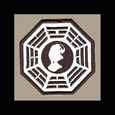"""LOST Dharma Initiative Embroidered patch """"Psychology"""""""
