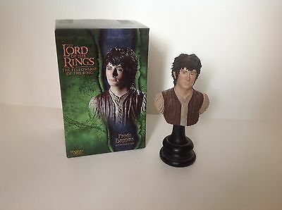 Lord of The Rings LOTR Frodo Baggins Bust Sideshow Weta Collectibles w/ Box EUC
