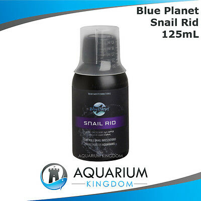 Blue Planet Snail Rid 125mL - Aquarium Pest Control Infestation Freshwater Only