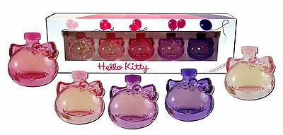 5 x 5ml Eau de Toilette Parfüm Hello Kitty Hellokitty Duft Collection Parfüms