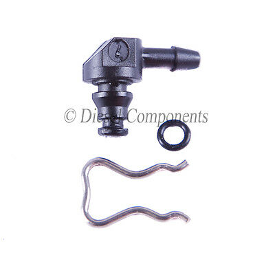 Ford Focus 1.6 TDCi 90 Degree Leak Off Connector for Bosch Diesel Injectors