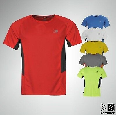 New Mens Karrimor Breathable Running T Shirt Short Sleeves Top Size S M L XL XXL