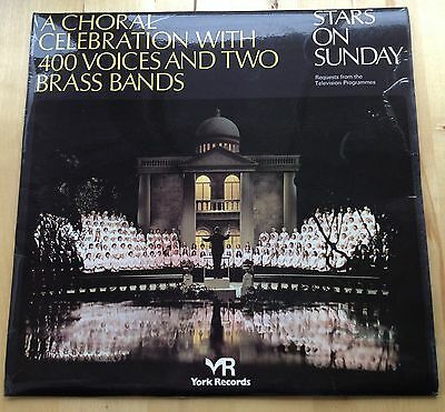 VINYL LP: STARS ON SUNDAY - A Choral Celebration with 400 Voices & 2 Brass Bands