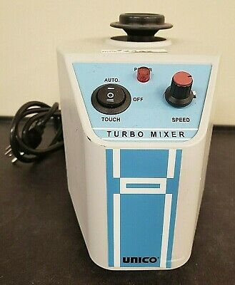 UNICO 14040159 Variable Speed Vortex Lab Tube Turbo Mixer L-VM1000 Inv 2442