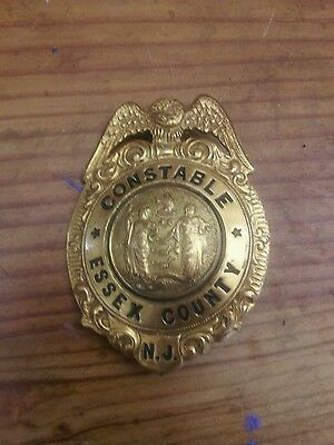 Obsolete 1940s essex county nj constable