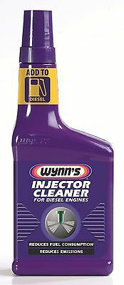 WYNN'S INJECTOR CLEANER For diesel engines REDUCES FUEL CONSUMPTION & EMISSIONS