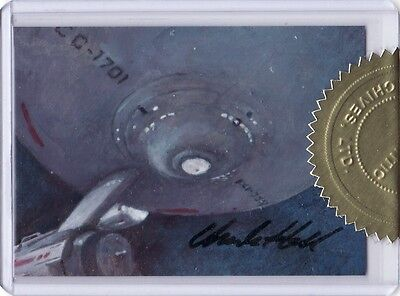Star Trek Portfolio Prints Charles Hall 6 case Incentive Sketch Card e