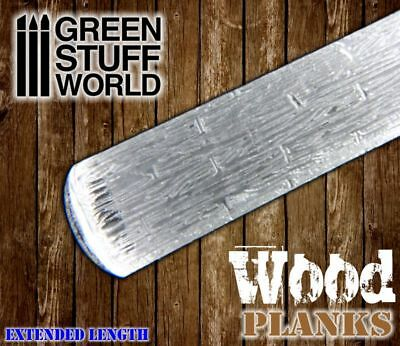 Rolling Pin - WOOD PLANKS Texture - for Warhammer and miniature bases in general