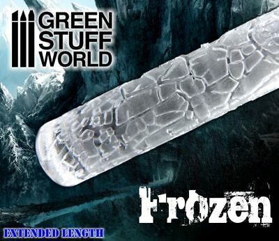 Rolling Pin - FROZEN Drought Fields Texture - for Warhammer and miniature bases
