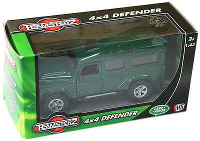 TEAMSTERZ LANDROVER 4x4 DEFENDER CAR TRUCK JEEP DIE-CAST METAL 1:43 SCALE TOY 3+