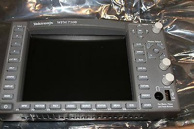 New Tektronix WFM7120 WFM7020 Front Panel Upgrade WFM71UP WFM7100 FP 614104451