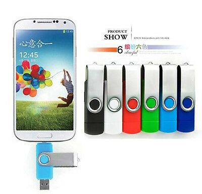 8GB Micro USB USB2.0 Flash Stick for OTG Smart phone Android Tablet PC