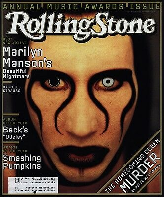 1997 MARILYN MANSON - ROLLING STONE Magazine *COVER ONLY*