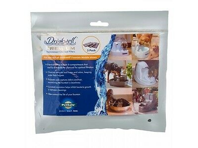 PAC00-13070 Petsafe Drinkwell 12 Replacement Filters for Platinum Pet Fountain