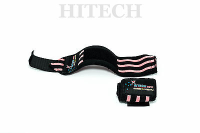 """12"""" Ladies Heavy Duty Weight Lifting Wraps Straps Weight Lifting Wrist Wraps"""