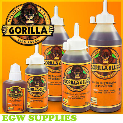 Extra Strong Glue Adhesive Multi Purpose All Types & Sizes Gorilla Though