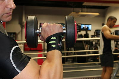 """12"""" Heavy Duty Weight Lifting Wrist Support Wraps Bodybuildying Wrist Wraps"""