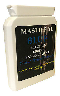 MASTIFF-XL PENIS ENHANCEMENT & TESTOSTERONE BOOSTER SEX PILL 1000mg CAPSULES