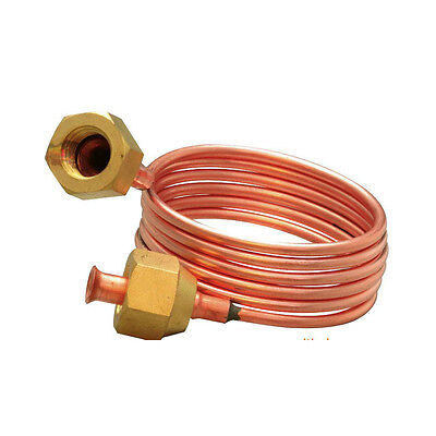 "Copper Capillary Tube 3mm O.D x 900mm Length 1/4"" SAE Refrigeration Parts"