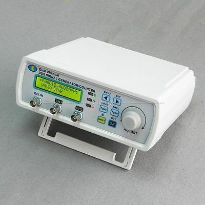 6M-25MHZ Dual Channel DDS signal generator counter frequency meter signal source