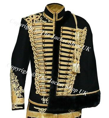 Officers Napoleonic Hussars Military Tunic and Cape
