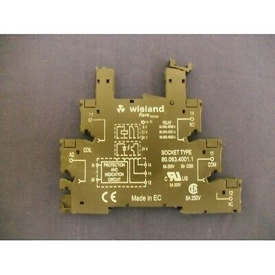 Relay Socket 8006340011 Wieland 80.063.4001.1