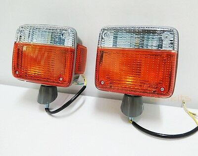 Front Indicator Signal Light L+R For Toyota Land Cruiser 40Series Fj40 Fj45 Hj47