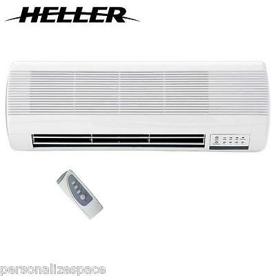 Ceramic Wall Heater Remote Control - 2000W Overheat protection energy efficient