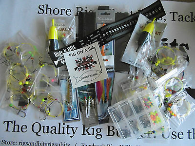 Sea fishing Rig Pack x 25 rigs and fishing pack - Sumer Pack - Limited stock