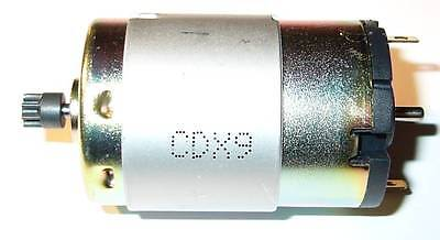 12 V Igarashi DC Motor with 8 Tooth Gear - 10,000 RPM - 12 VDC - 10000 RPM