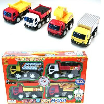 5033B CONSTRUCTION Die-cast Miniature 4 Pcs