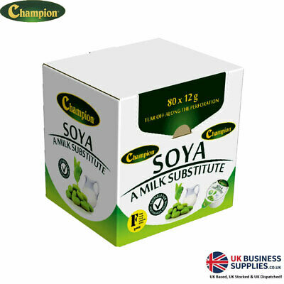 Champion Soya Milk Substitute Portions, Alternative Millac/Lakeland Jiggers Pots