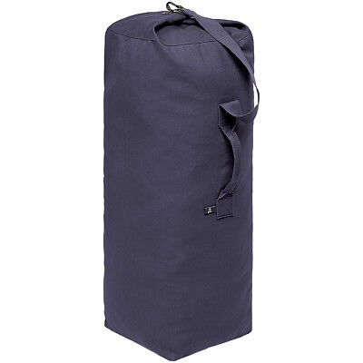 Brandit Standard Marine Forces Medium Seesack 72L Travel Cotton Duffle Bag Navy