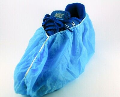 """NON Skid Safety Non Woven Protective Fabric Shoes Covers 18"""" ,Pkt of 100 Pcs"""