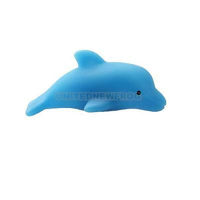Baby Kids Bath Toy Colorful Multi Colors Changing LED Flashing Dolphin Lamp New
