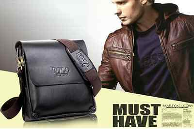 Borsello Borsa tracolla per uomo in pelle - messenger bag fashion Prezzo affare!