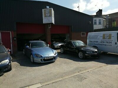 BMW Z3 Black Mohair Hood, Soft Top,Roof £720 Fitted at our workshop in Stockport