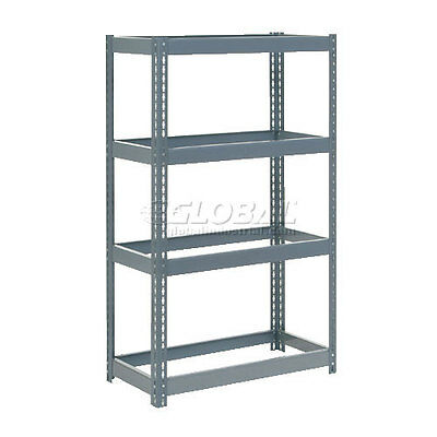 """Extra Heavy Duty Shelving 36""""W x 12""""D x 60""""H With 4 Shelves, No Deck"""