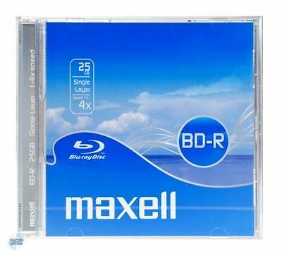 MAXELL BD-R Blu-ray Disc, 25gb, 4X speed - DVD BluRay Vierge