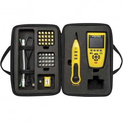 Klein Tool VDV Commander Test & Tone Kit Voice/Data/Video Cable Tester T21795