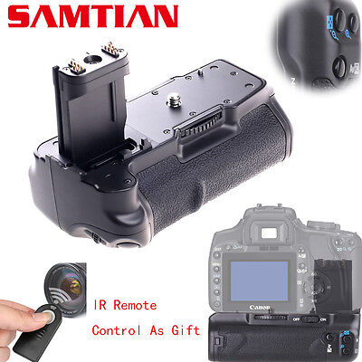 For CANON EOS 400D 350D XT Pro Battery Grip As BG-E3+IR Remote RC-5
