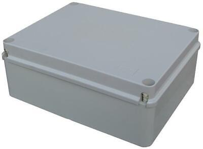 1 x Outdoor Waterproof 300x220x120mm PVC Adaptable IP56 Junction Box Enclosure