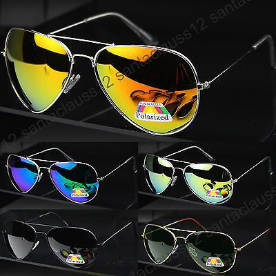 New POLARIZED Pilot Sunglasses  Mens Women's UV400