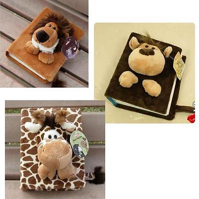 80 Pages Cartoon Fluff Soft Doll Photo Plush Album for Baby Family E