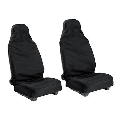 Universal 2pcs car Van Waterproof Nylon Front Seat Covers Protectors Durable
