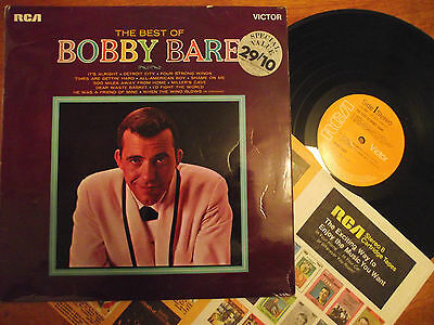 BOBBY BARE The Best Of... ( VINYL LP  )