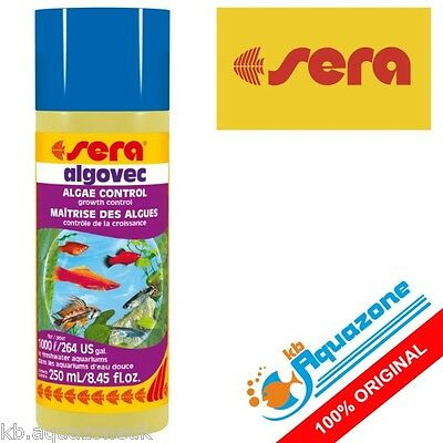 SERA * ALGOVEC 250ml FOR ALGAE TREATMENT ORIGINAL HIGH QUALITY