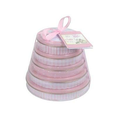 Child to Cherish Handprints Tower Of Time Kit in Pink New