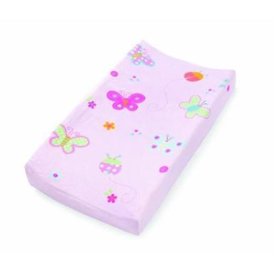 Summer Infant Ultra Plush Character Changing Pad Cover, Butterflies & Ladybugs